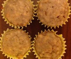 Spelt flour Apple & Almond Muffins, dairy free