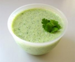 Mint and Coriander Raita
