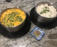 Zanzibar Coconut Chicken Curry