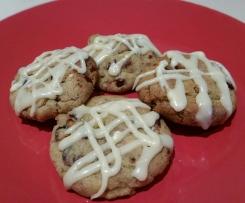 White Choc, Cranberry & Pistachio Cookies