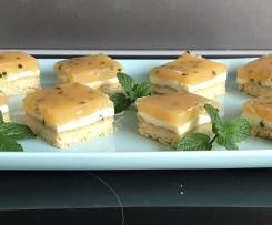 Kim's Passionfruit Slice (Nan's Recipe <3)