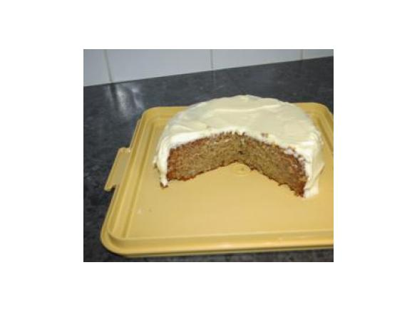 Thermomix Banana Cake With Cream Cheese Icing