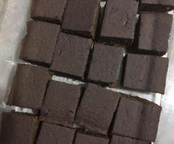Low Salicylate Carob Sweet Potato Brownies
