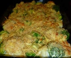 Cauliflower & Broccoli Gratin