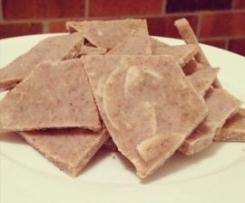 Almond Butter Bark (sugar free)