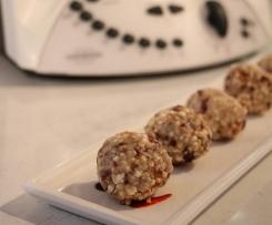 Puffed Quinoa Energy Balls