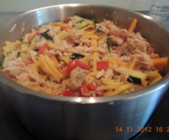 Chicken Stir Fry with Hokkein Noodles