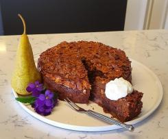 Sticky Date and Pear Cake