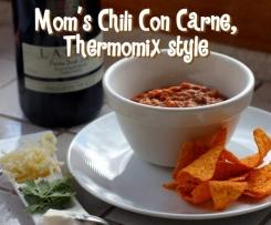 Mom's Chili Con Carne, Thermomix style