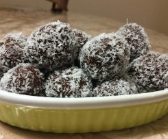 Macca Chocolate Raw Ball