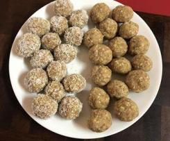 Almond and Lemon Bliss Balls