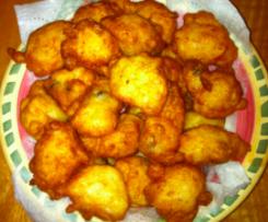 Baba Nada's Fritules (Croatian Mini Doughnuts)
