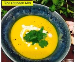 Thai inspired Sweet Potato Soup