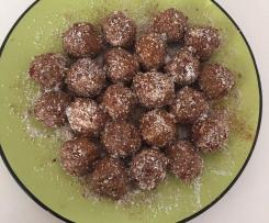 Choc Bliss Balls - Protein, Flax & Goji