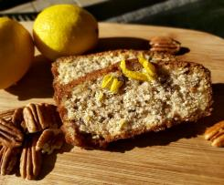 Lemon and Pecan Syrup Loaf