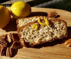 Lemon and Pecan Syrup Loaf