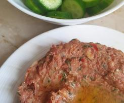 Manaya's Kebbe Naya ( raw meat patte)