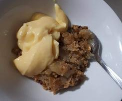 Sarah's Apple Crumble Conversion