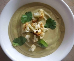 Caramelised Cauliflower and Coconut Soup