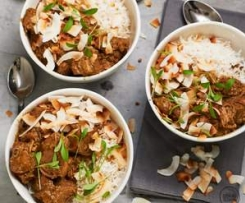 Coconut lamb curry