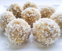 Raw Lemon Bliss Balls