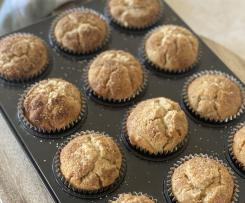 Pear/Apple & Cinnamon Muffins