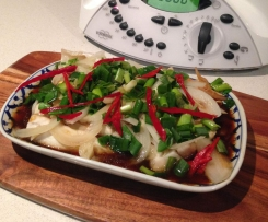 Thai Ginger & Soy sauce Steamed Fish