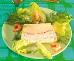 Salmon Pate with Green Pepper Dip