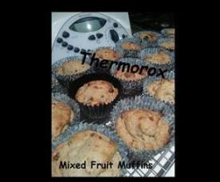Mixed Fruit Muffins