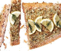 DILL AND BREADCRUMB SALMON TOPPING