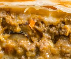 Beef curry pies (Pie-maker)