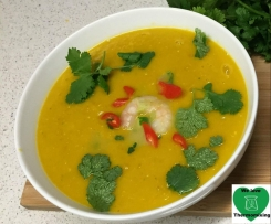 Charlie's Spicy Prawn & Pumpkin Soup