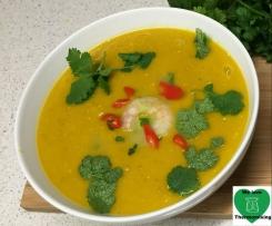 Charlie's Spicy Prawn & Pumpkin Soup