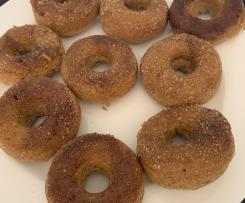 Gluten Free Cinnamon Doughnuts