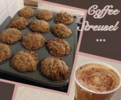Coffee streusel