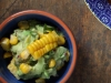 Corn and coriander salsa
