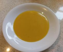 Butternut Pumpkin Soup