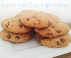 Gluten Free Choc Chip Cookie