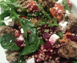 Buckwheat, Beetroot & Pumpkin Salad