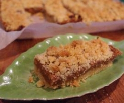 Fig Crumble Slice