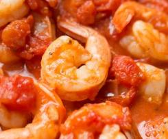 Variation Chilli, Garlic Tomato Prawns