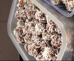 No-Bake Chocolate Cookie Balls (Gluten Free Grain Free, Paleo)
