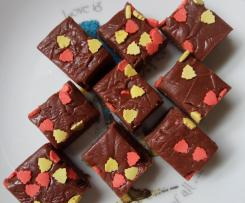 Chocolate Gingerbread Fudge