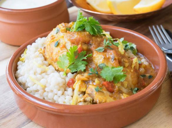 Syrian chicken with israeli couscous by thermo nutritionist a thumbnail image 1 forumfinder Images