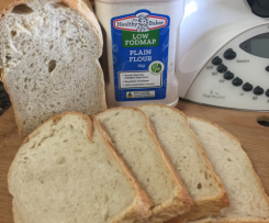 Low FODMAP Easy Everyday White Bread