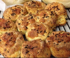 Bacon, Onion & Cheese Scones