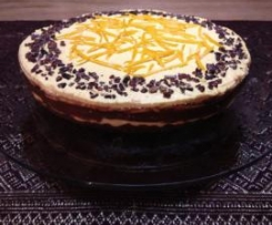 Raw Jaffa Cheescake