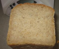 Atta wholemeal flour bread