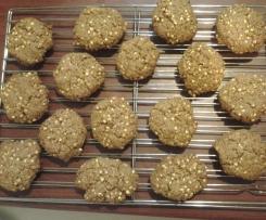 Oat Free Gluten Free ANZAC biscuits