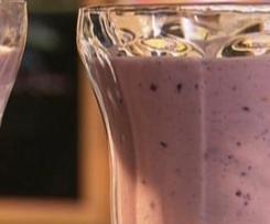 Berry/Banana Breakfast in a Glass